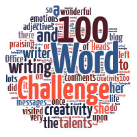 100 word Challenge for Grown ups