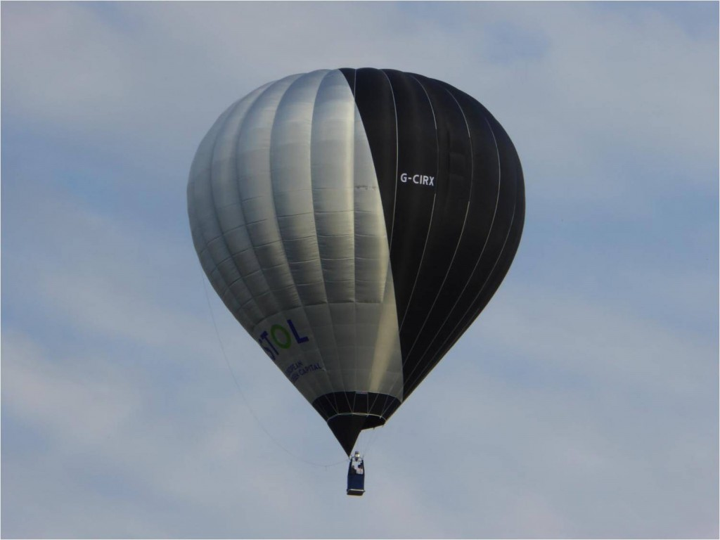 Solar powered balloon